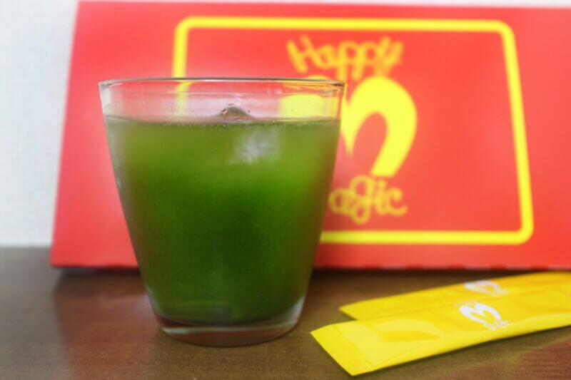 ハッピーマジック,青汁,ダイエット