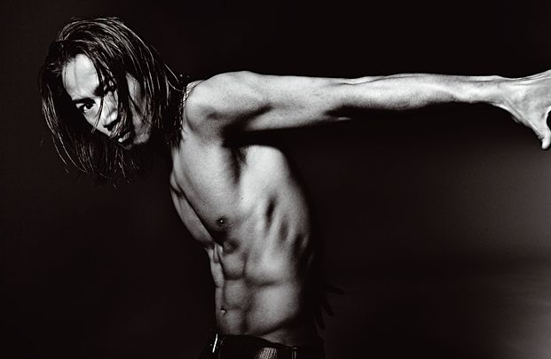 EXILE HIROの筋肉