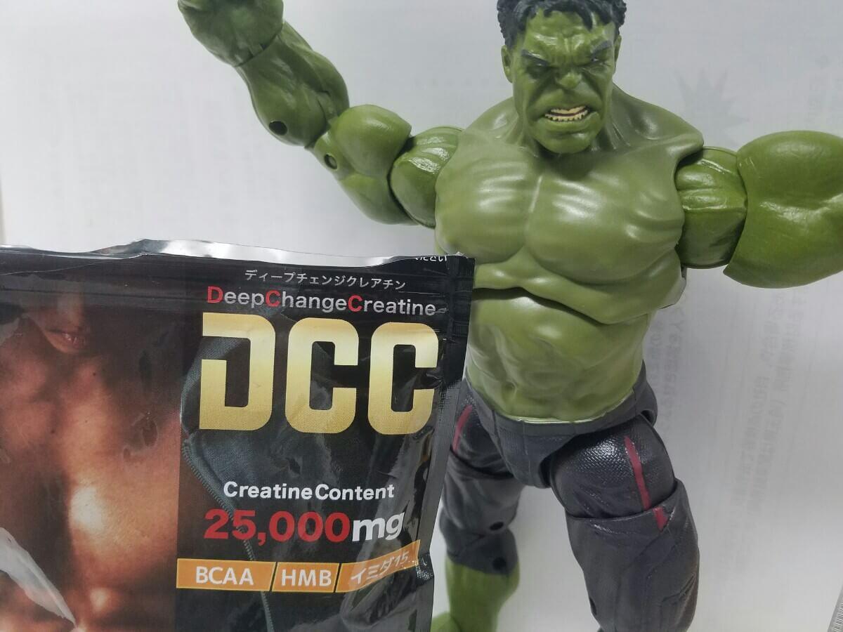 DCC(ディープチェンジクレアチン)サプリの成分