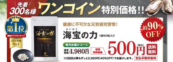 海宝の力,通販,500円