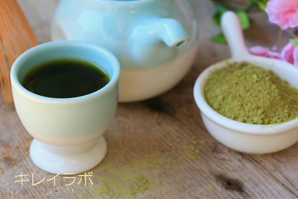 白井田七,お茶,飲み方,ホット