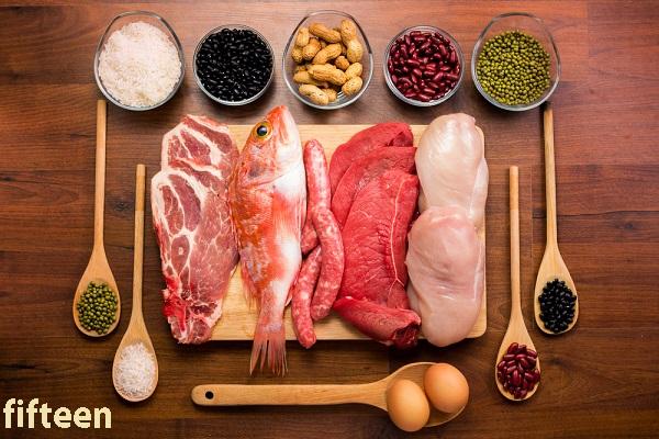 筋肉には良質なたんぱく質を含んだ食品を!