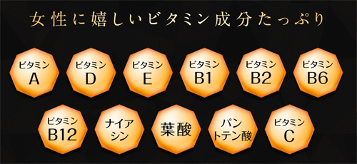 ベルタHMBビタミン成分