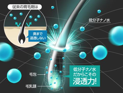 低分子ナノ水