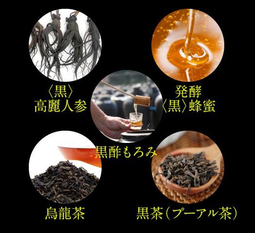 琉球発酵黒酵素脂肪分解
